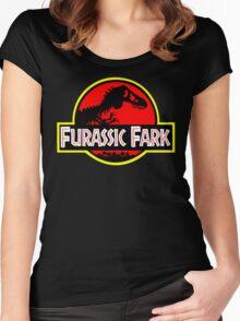 Furassic Fark #2 Women's Fitted Scoop T-Shirt