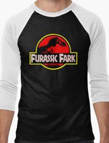Furassic Fark #2 Men's Baseball ¾ T-Shirt