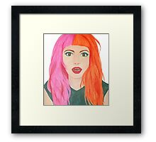 Hayley Art Framed Print