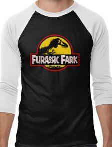 Furassic Fark Men's Baseball ¾ T-Shirt