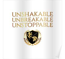Unshakable, Unbreakable, Unstoppable - Conquer Enterprise  Poster