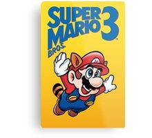 Super Mario 3 Metal Print