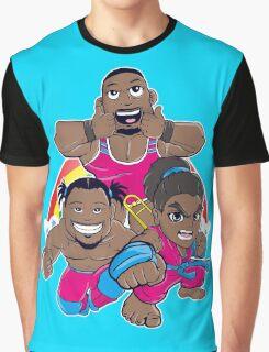 New Day Chibi Rocks! Graphic T-Shirt