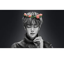 BTS Jin Flower Crown 1 Original Photographic Print