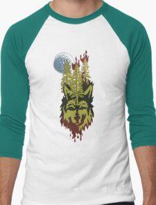 Howling Planet Men's Baseball ¾ T-Shirt