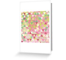 Isometric Spring Greeting Card