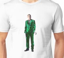 George Clooney - Green Suit and Swan Unisex T-Shirt