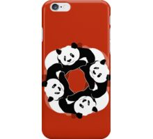 PANDA PLAY iPhone Case/Skin