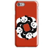 PANDA PLAY iPhone Case/Skin