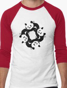 PANDA PLAY Men's Baseball ¾ T-Shirt
