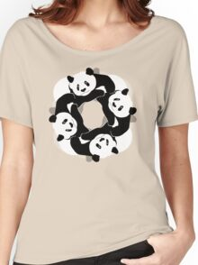 PANDA PLAY Women's Relaxed Fit T-Shirt