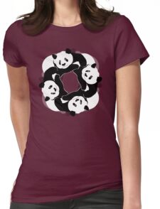 PANDA PLAY Womens Fitted T-Shirt