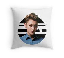 Circle Tao Throw Pillow