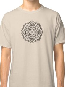 Flower and Flame Mandala Classic T-Shirt