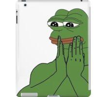 Pepe the frog iPad Case/Skin