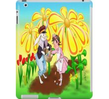 Among The Spring-Flowers iPad Case/Skin