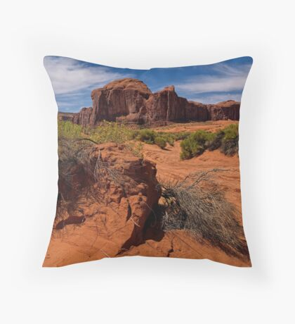 Hold On To Something Strong Throw Pillow