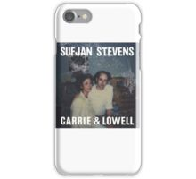 Carrie and Lowell album cover by Sufjan Stevens iPhone Case/Skin