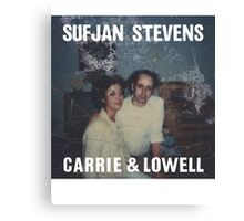 Carrie and Lowell album cover by Sufjan Stevens Canvas Print