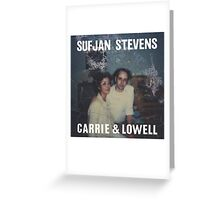 Carrie and Lowell album cover by Sufjan Stevens Greeting Card