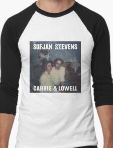 Carrie and Lowell album cover by Sufjan Stevens Men's Baseball ¾ T-Shirt