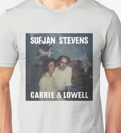 Carrie and Lowell album cover by Sufjan Stevens Unisex T-Shirt