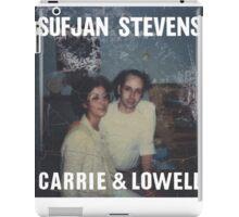 Carrie and Lowell album cover by Sufjan Stevens iPad Case/Skin