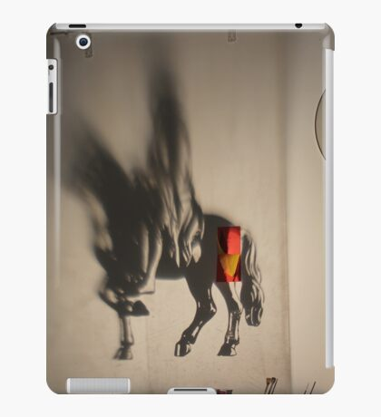 Horse projection iPad Case/Skin