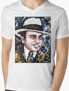 Al Mens V-Neck T-Shirt