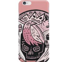Bubble Head - pink iPhone Case/Skin