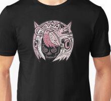 Bubble Head - pink Unisex T-Shirt