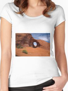 Ear of the Wind Women's Fitted Scoop T-Shirt