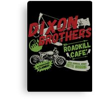 Dixon Brothers Roadkill Cafe! Canvas Print