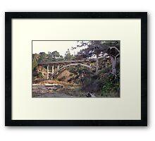 Morning Under The Cabrillo Bridge Framed Print