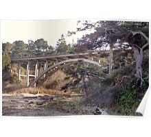 Morning Under The Cabrillo Bridge Poster