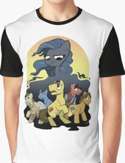 Bronies Against the Darkness Graphic T-Shirt