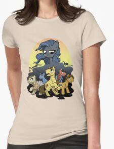 Bronies Against the Darkness Womens Fitted T-Shirt