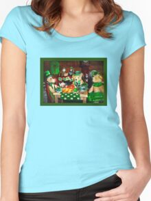 Wearin' o' the Green Women's Fitted Scoop T-Shirt