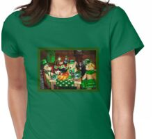 Wearin' o' the Green Womens Fitted T-Shirt