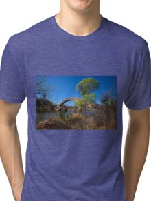 Over The Water I Will Show You The Way Tri-blend T-Shirt