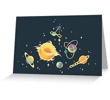Space Oddities Greeting Card