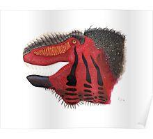 Fancy Tyrannosaurus Poster