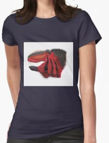 Fancy Tyrannosaurus Womens Fitted T-Shirt