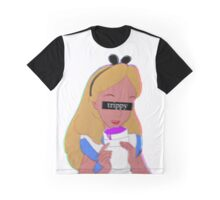 Trippy Alice Graphic T-Shirt