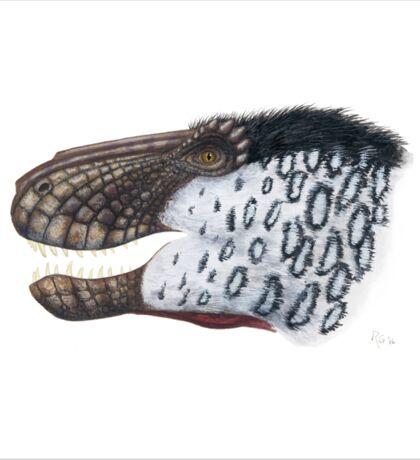 Scaly Tyrannosaurus Sticker