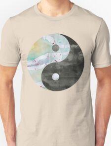 Yin & Yang Watercolor T-Shirt