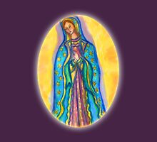 Virgin Mary Womens Fitted T-Shirt