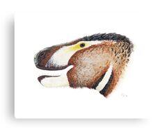 Fuzzy Tyrannosaurus Canvas Print