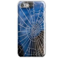 Frosty web iPhone Case/Skin