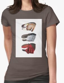 Triple rex Womens Fitted T-Shirt